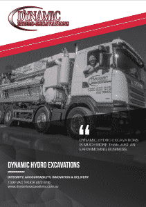 Dynamic Hydro Excavations About us