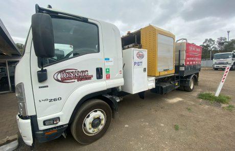 Dynamic Hydro Excavations 3,000L Vac Truck